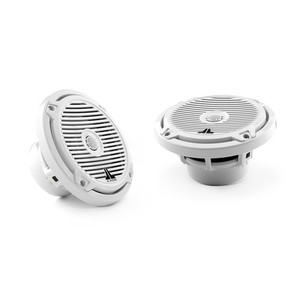 "JL Audio M650-CCX-CG-WH 6-1/2"" Marine Speakers with Classic Grill"