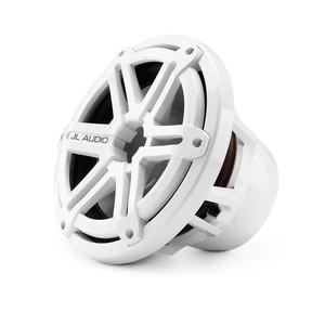 "JL Audio M10IB5-SG-WH 10"" Marine Subwoofer with White Sports Grill"