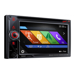 Clarion VX506AU  2-DIN DVD Multimedia Station with Navigation