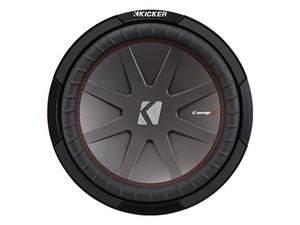 "Kicker CWR124 12"" Dual 4 Ohm CompR (CWR) Subwoofer"