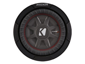 "Kicker CWRT82 8"" Dual 2 Ohm CompRT Series Subwoofer"