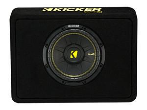"Kicker TCWC102 10"" CompC 2ohm Subwoofer Enclosure"