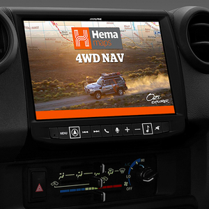 "Alpine LC70-X902D 9"" HEMA Navigation to suit Toyota LC70 Vehicles"