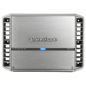 Rockford Fosgate PM400X2 Punch Marine 400 Watt 2-Channel Amplifier
