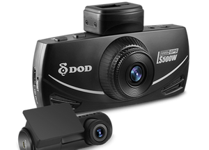 "DOD LS500S-2CH Full HD Dash Camera with 2.7"" LCD Display - 32GB"