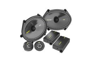 "Kicker CSS684 6x8"" Component speaker System"