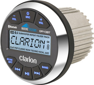 Clarion GR10BT Marine  Media Receiver with Bluetooth
