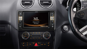 "Alpine  Premium 8"" Navigation System for Mercedes-Benz ML"