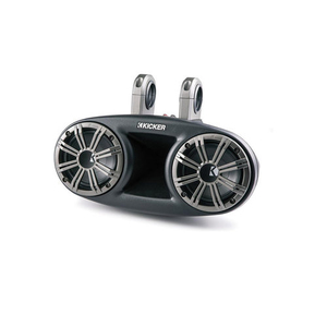 Kicker KMT674 6-3/4 3-Way KM Series Coaxial Marine Speakers
