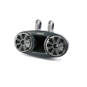 Kicker KMT674 6-3/4 3-Way KM Series Coaxial Marine Speakers