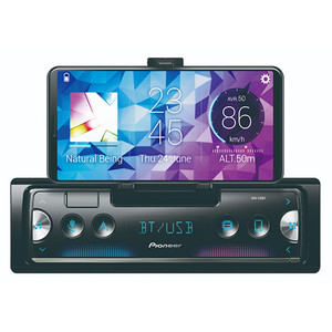 Pioneer SPH-C10BT Tuner with Pioneer Smart Sync connectivity, Phone Cradle and BT
