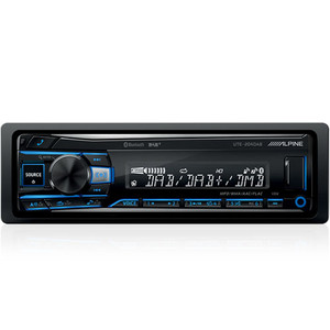 Alpine UTE-204DAB Digital Media receiver with DAB+ and Bluetooth