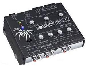 Soundstream INT-2BX Digital Equaliser with Sub Woofer Ouput