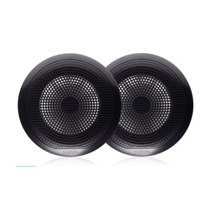 "Fusion  EL-F651B EL Series - 6.5"" speaker pair, Classic grill black"