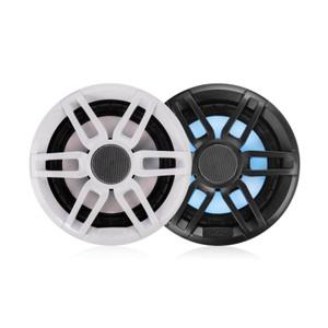 "Fusion  XS-FL65SPGW Series 6.5"" RGB Lighting Speaker pair - with Sports White & Grey Grills - 200WW,Fusion,6.5"""