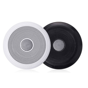 """Fusion  XS-F77CWB XS Series 7.7"""" Speaker pair - with Classic White & Black Grills - 240W"""