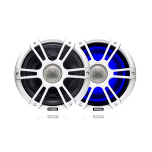 """Fusion  SG-FL88SPW White Sports Grill - 8.8"""" Speakers -  LED - 330W"""
