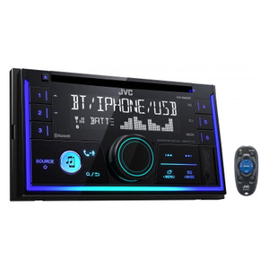JVC KW-R930BT CD Receiver with Bluetooth Front USB/AUX Input
