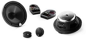JL Audio C3-650 2-Way Component / Coaxial System: 6.5-inch woofer , 1-inch Tweeter