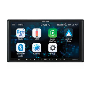 Alpine iLX-W650E 7 Apple CarPlay / Android Auto AV Receiver BONUS REVERSE CAMERA