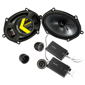Kicker CSS684 CS-Series 6x8-inch Component Speakers