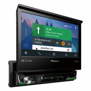 Pioneer AVH-Z7250BT  Multimedia player with Apple CarPlay, Android Auto + BONUS CAMERA