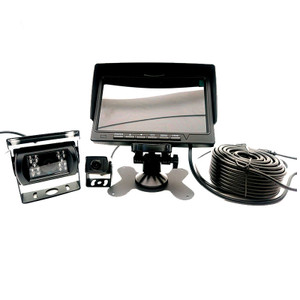"MDVR Commercial Driver assistance 7"" screen built-in black box and 2 Cameras"