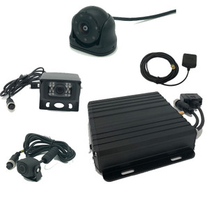 MDVR Commercial Black box with GPS 400 hours and 3 Camera