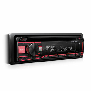 Alpine CDE-170E CD Receiver with USB