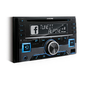 Alpine CDE-W296BT 2-Din receiver with BT / USB / IPOD / IPHONE / ADAPTIVE SWC