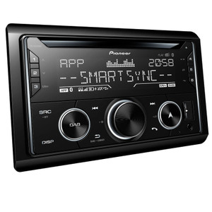Pioneer FH-S820DAB Car stereo with Dual Bluetooth, DAB+ radio