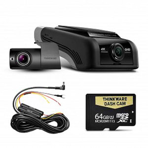 Thinkware U1000 4K UHD Front and Rear dash cam - With 64GB Memory Card