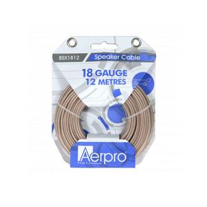 Aerpro BSX1812 Bassix 18GA 12M Speaker cable