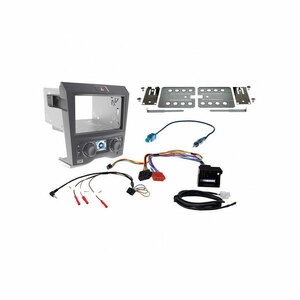 Aerpro FP9350BK Install kit for Holden commodore VE Series 1 Single zone climate control (Black)