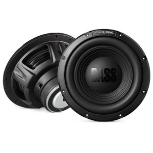 Alpine W12S4 Bass Series 12 Inch Single Subwoofer