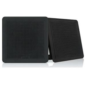 """Fusion FMF77SB Series 7.7"""" 200 Watt Flush Mount Marine Speakers"""