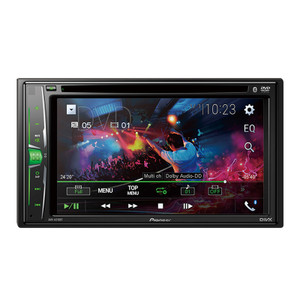 """Pioneer AVH-A215BT 2 Din 6.2""""  Media receiver with USB/DVD and Bluetooth"""