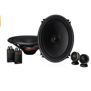 Alpine X-710S X-Premium Sound 7 x 10″ Component Speakers