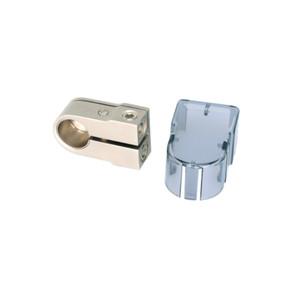 Rockford Fosgate RFDB4 Positive/Negative battery terminal, platinum finish 2 4 AWG/8 AWG inputs