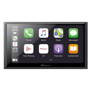 "Pioneer DMH-Z6350BT 6.8″ Capacitive Touch-screen ""Short Chassis Multimedia Alexa Built-in/ Wireless Apple CarPlay/ Android Auto"