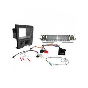 Aerpro FP9450BK Install kit to suit Holden Commodore VE Series 1 Dual zone climate cont (Black)
