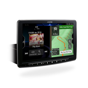 Alpine INE-F409E 9inch Built-In Navigation CarPlay Android Auto BT DAB+ Receiver