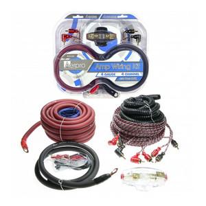 Aerpro BSX404 Bassix 4GA 4 Channel Amp install kit