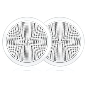 "Fusion FM-F65RW / 010-02299-00  FM Series 6.5"" 120 Watt Flush Mount Marine Speakers"