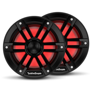Rockford Fosgate M1 6.5 Color Optix Marine 2-Way Speakers - Black