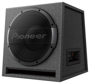 """PIONEER TS-WX1210AH 12"""" AMPLIFIED PORTED SUB IN A BOX 1500W"""
