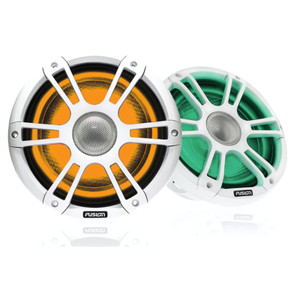 "Fusion SG-FL772SPW 7.7"" Sports White Marine Speaker with CRGBW"