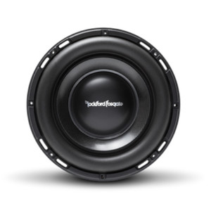 "Rockford Fosgate T1S1-10  Power 10"" T1 Slim Single 1-Ohm Subwoofer"