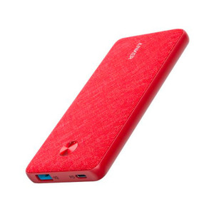 Anker A1231T91 PowerCore III Sense 10K Red Fabric