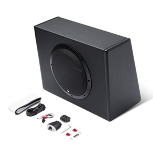 "Rockford Fosgate P300-10 Punch Single 10"" 300 Watt Amplified Subwoofer"